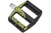 Sixpack Icon mini Pedale stealth-black/neon-yellow